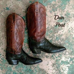 Vintage Dan Post cowboy boots size 6.5M
